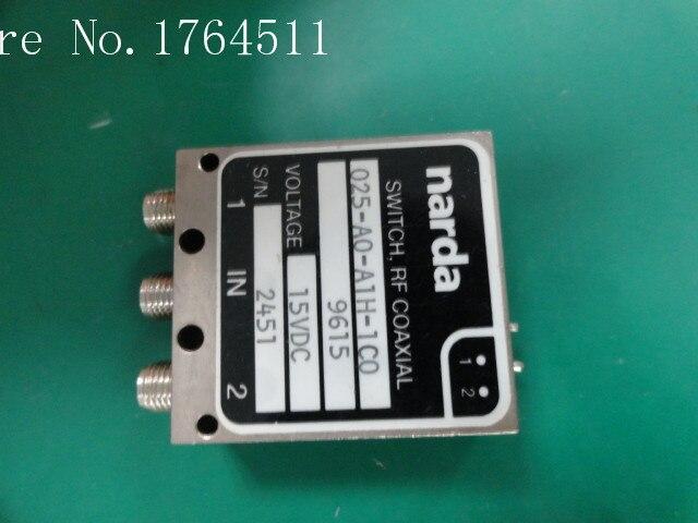 [BELLA] Narda 025-AO-A1H-1C0 DC-18GHZ SPDT RF Coaxial - 15V