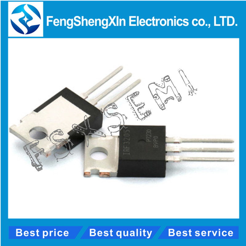 10pcs/lot  IRF3205 IRF3205N IPF3205PBF TO-220 Power MOSFET