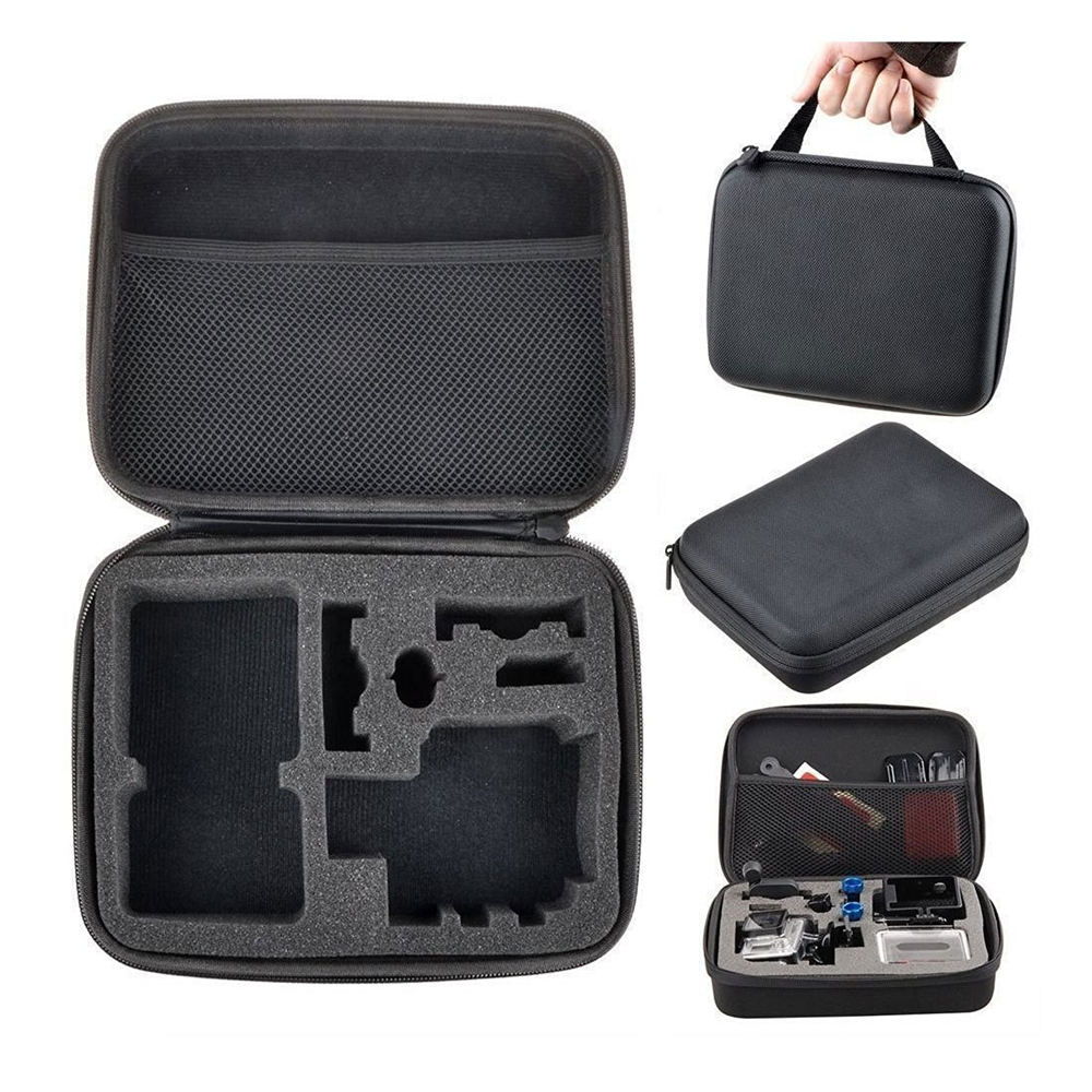 Drone Boxes Portable Medium Size S Camera Bag for Gopro Hero 4 3+ Xiaomi Yi 3 2 1 Action Camera SJ4/5/6/7/8/9000
