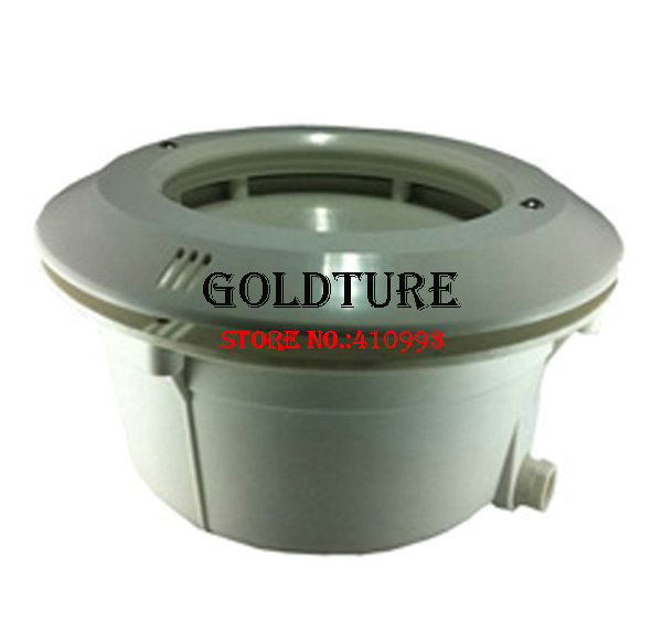 PAR56 Pool Lamp Niche And Housing PVC Material With O-ring For Liner And Concrete Pool