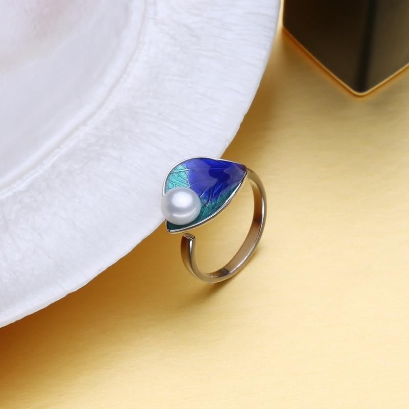 FENASY Pearl զարդերի հավաքածու 925 ստերլինգ - Նուրբ զարդեր - Լուսանկար 4