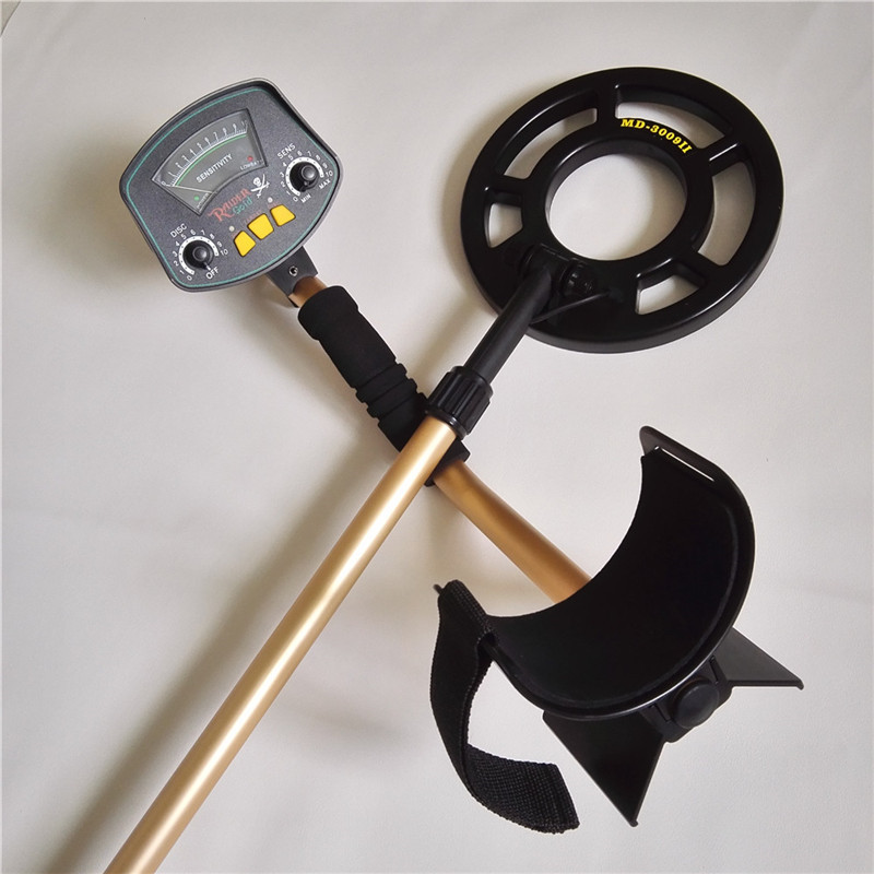 Free Shipping Hot Selling MD-3009II Hobby Upgraded Metal Detectors Underground Detector Gold Detector стоимость