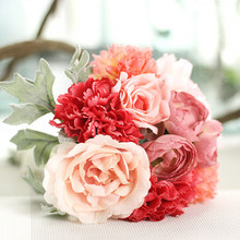 Korean hand-painted bouquets wedding supplies decorative gifts bouquets artificial flowers fake flowers home decor artificial hand made flowers