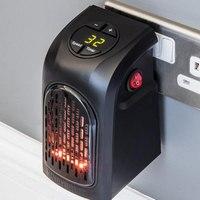 Mini Electric Home Handy Heater Stove Hand Warmer Plug In 400 W Wall Heater Kitchen Bar