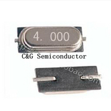 SMD Crystal Resonator Quartz HC-49 100PCS 4M 2P Passive 49S