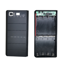 Portable 5V Dual USB 8*18650 Power Bank Battery Box Shell Case DIY Type-C Micro Mobile Phone Charger Box Case For Xiaomi iphone6 цена в Москве и Питере