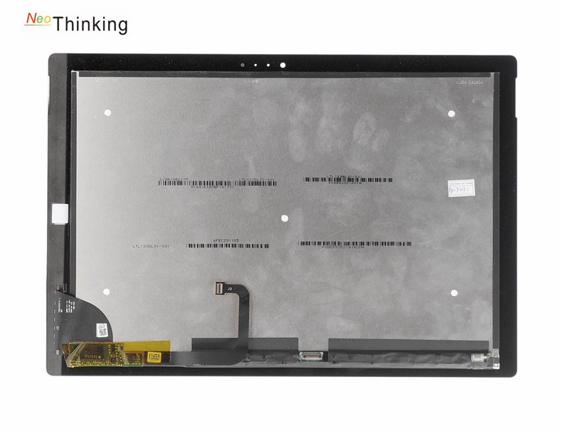 NeoThinking LCD Assembly For Microsoft <font><b>Surface</b></font> <font><b>Pro</b></font> <font><b>3</b></font> <font><b>1631</b></font> TOM12H20 V1.1 LTL120QL01 003 lcd display touch screen digitizer panel image
