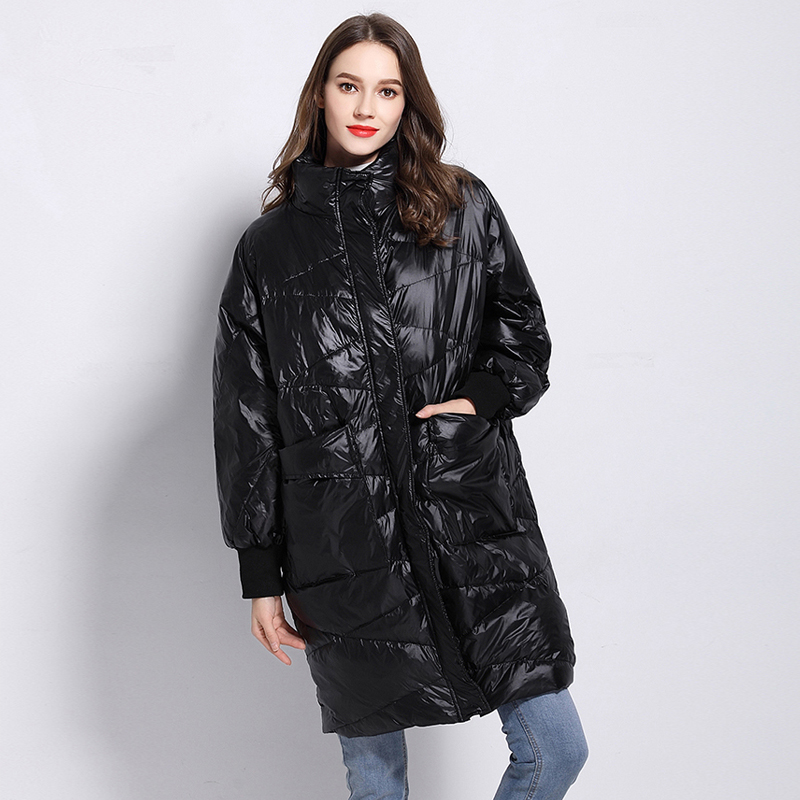 New Winter Jacket Female Parka   Coat   For Women's 90% White Duck   Down   Jackets And   Coats   Large Size Oversize Long Snow Outwear