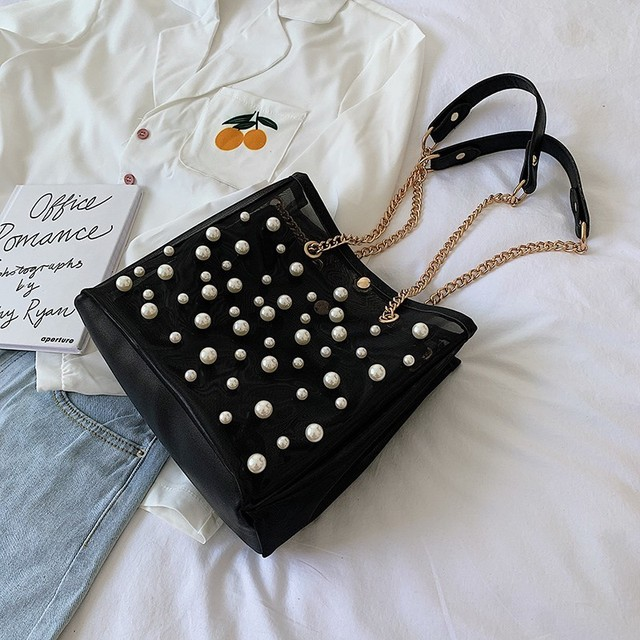 Summer Tote Bags Pearl...
