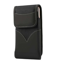 4.7 inch - 6.3 inch Universal Phone Case Pouch Belt Clip Holster Leather Cover Waist Case Holster Bag Durable Oxford  KS0208 nite ize clip case plus universal phone holster w belt clip small