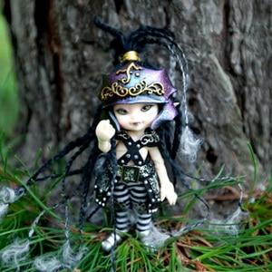 Image 3 - Darmowa wysyłka Fairyland Realpuki AKIa1/13 lalki BJD różowy uśmiech elfy zabawki dla dzieci prezent dla chłopców dziewcząt urodziny