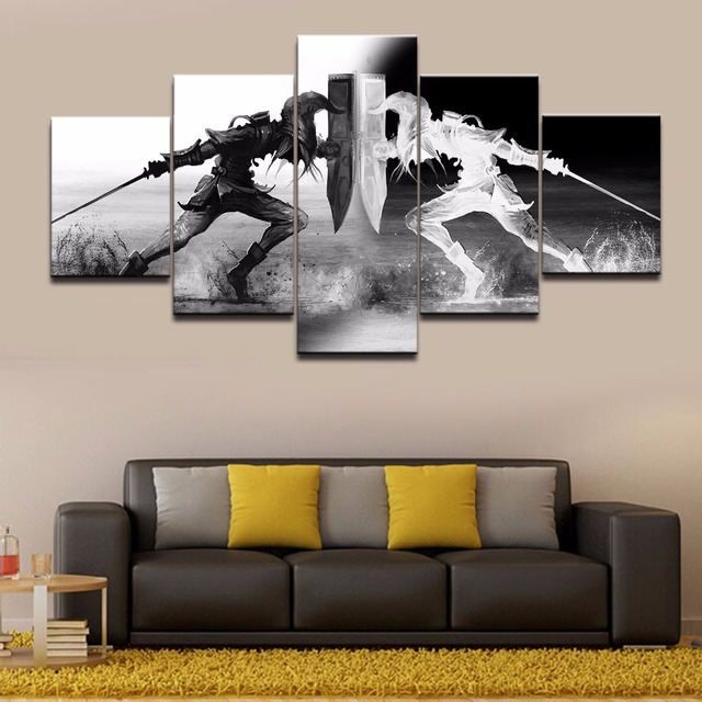 Wall Art Vikings Pictures Home Decor 5 Pieces Legend Of Zelda Canvas Painting Living Room HD & Wall Art Vikings Pictures Home Decor 5 Pieces Legend Of Zelda Canvas ...