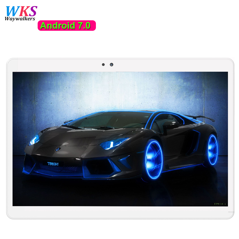 10.1 inch Android 7.0 MT6753 tablet pc Octa core 3G 4G LTE 4GB RAM 64GB ROM tablets Bluetooth GPS 1920*1200 IPS Mini tablet+Gift created x8s 8 ips octa core android 4 4 3g tablet pc w 1gb ram 16gb rom dual sim uk plug