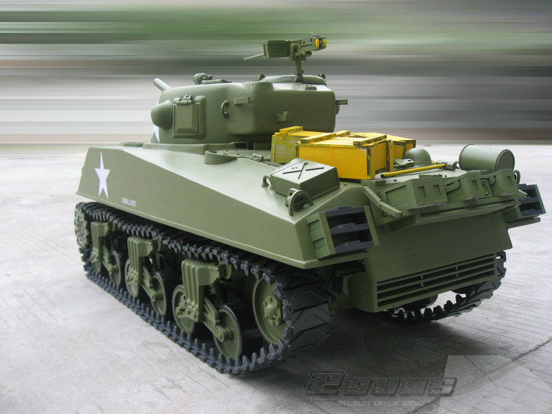 4758ed8708c16 Freeshing RC model ET602R Electric Tanks 1/6 M4A3 Sherman Tank 75mm Gun EP  RTR 2.4G 6 Channels-in RC Tanks from Toys & Hobbies on Aliexpress.com    Alibaba ...