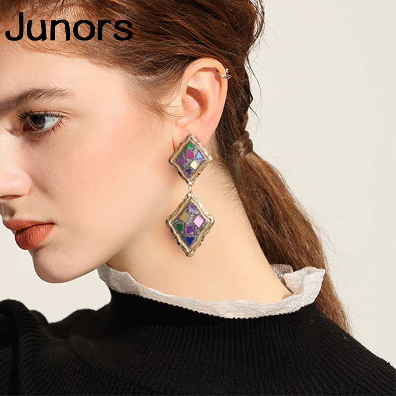 vintage fashion luxe big earings hanging for women statement luxury 2019 boho earrings african sexy jewelry summer accessories