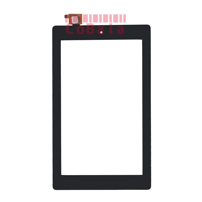 10 шт. черный оригинал для Amazon огонь 7 Fire7 (версия 2017) сенсорный экран 7.0 планшета ЖК-дисплей внешний Панель спереди Стекло Сенсор
