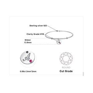 Image 4 - JewelryPalace ตัวอักษรเริ่มต้น Letter 925 เงินสเตอร์ลิง Dangle Charm สร้อยข้อมือกำไลข้อมือสำหรับผู้หญิง 2018 ใหม่