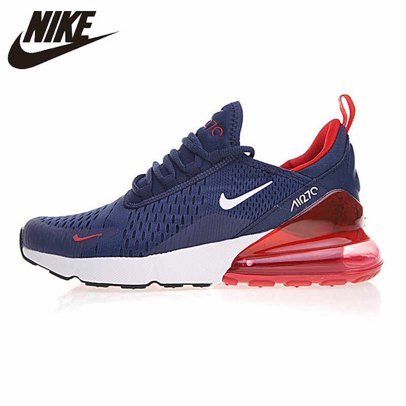 size 40 82ee2 54122 Nike Air Max 270 Men's Running Shoes, Dark Blue Grey, Breathable,Abrasion  Resistant