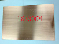 Free Shipping 18 30cm 1 6 Thick Single Sided Glass Fiber Copper Clad FR4 FRP Board