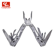 2pcs Ultralight 13 in 1 Multi-function pliers small mini EDC gadget Camping Survival Knife Pliers CL026