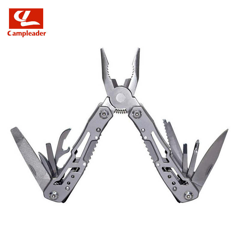 Ultralight 24 in1 Multitool bolsillo plegables alicates Camping - Camping y senderismo