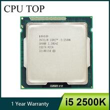 Процессор Intel Core i5 2500K четырехъядерный 3,3 ГГц LGA 1155 TDP 95 Вт 6 Мб кэш-памяти с HD графикой процессор для настольного компьютера