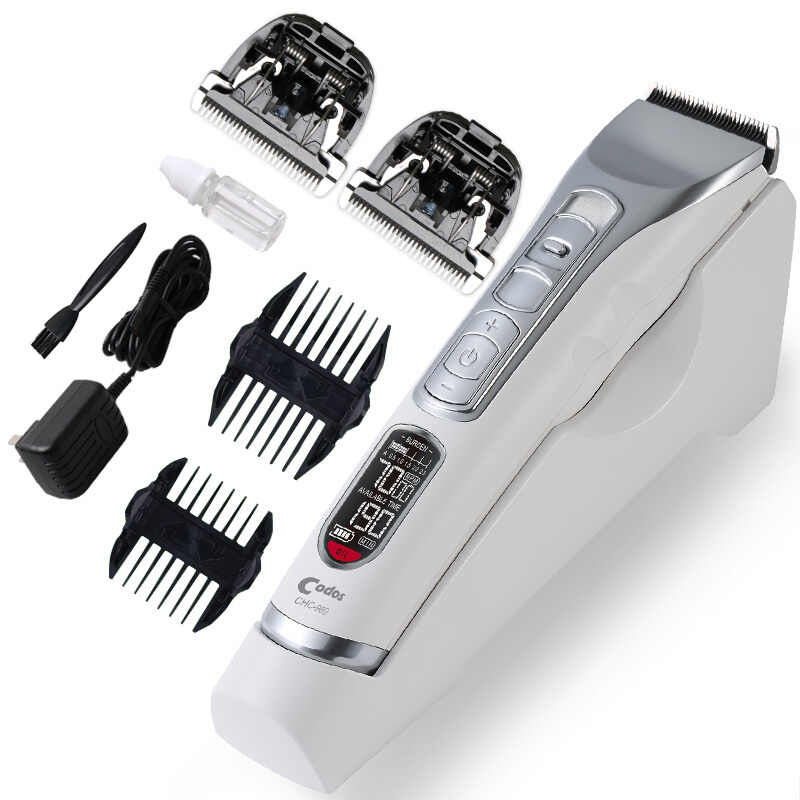 Codos 969 Professional Electric Hair Clipper for adult baby LCD Display Rechargeable Hair Trimmers Cutting Machine Beards shaver
