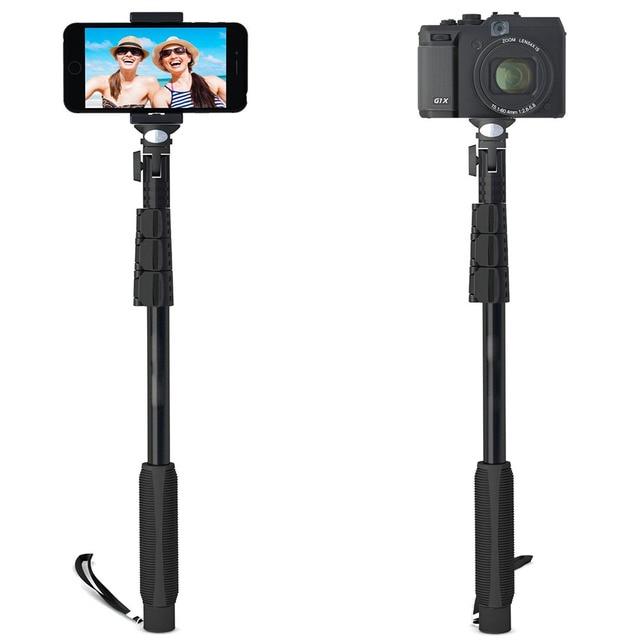 31d9ed95ad426 المهنية حامل selfie عصا ل كاميرات gopro هيرو فون سامسونج غالاكسي الرقمية  monopod الوقوف اكسسوارات تلفون