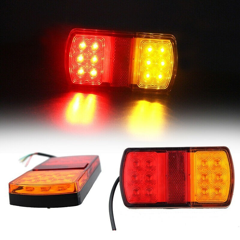 LED Submersible STOP Trailer Light Tail Lights Truck Boat Brake Turn Spotlights