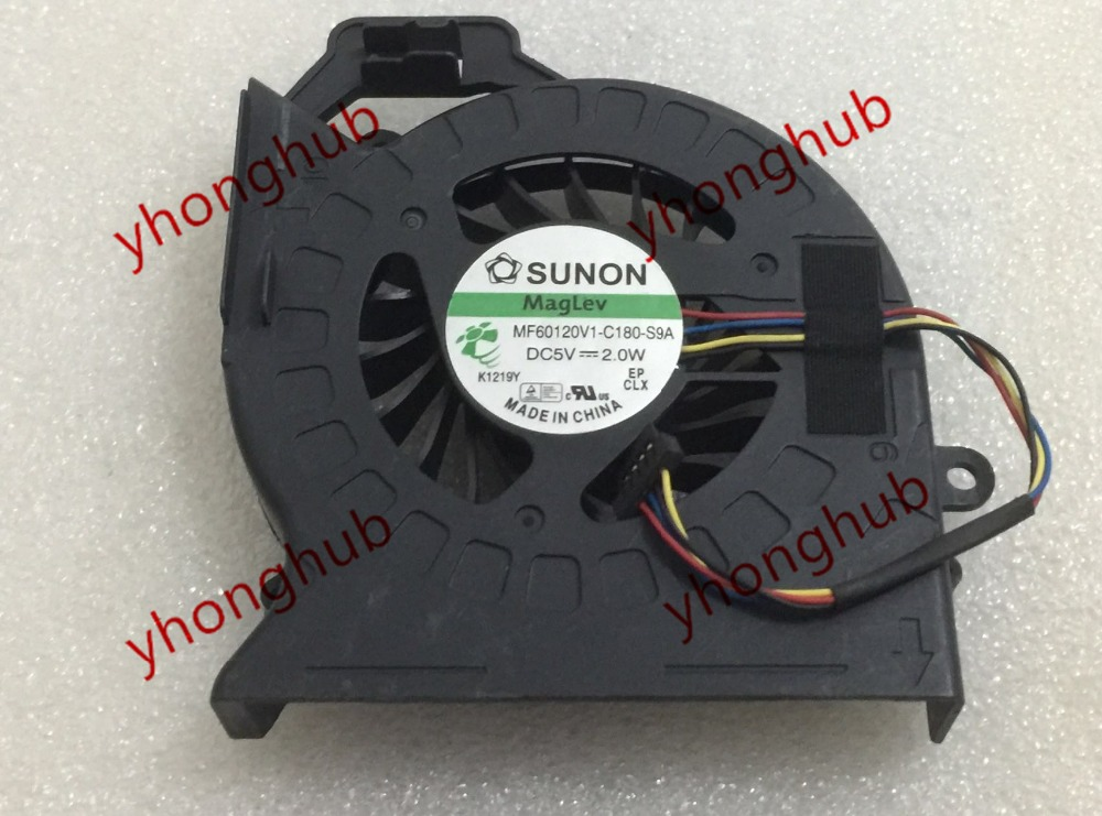 Free Shipping For SUNON MF60120V1-C180-S9A DC 5V 2.0W 4-wire 4-pin Server Bare fan free shipping for sunon eg50040v1 c06c s9a dc 5v 2 00w 8 wire 8 pin server laptop fan