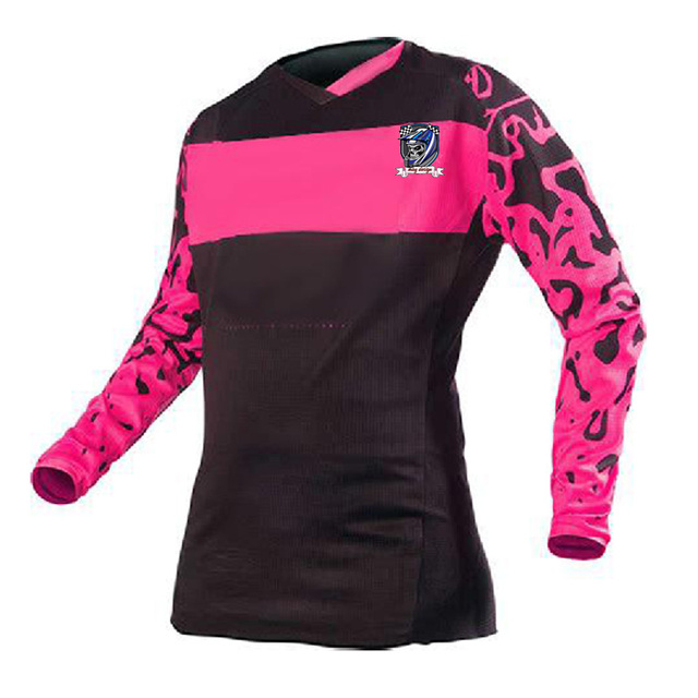 d8a5f7fcd Moto jerseys 2019 Rockstar women Jersey Breathable Motocross Racing  Downhill Off-road Mountain Motorcycle Clothing t shirt