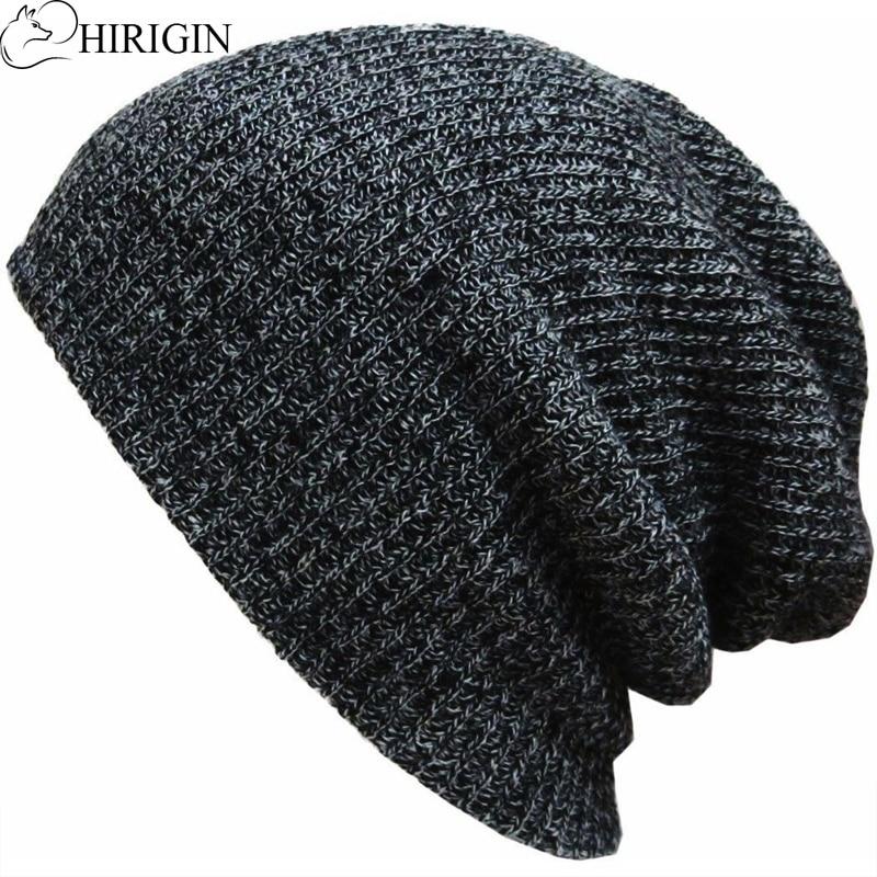 COJOP Rainbow Waves Winter Beanie Unisex Cuffed Plain Skull Knit Hat Cap