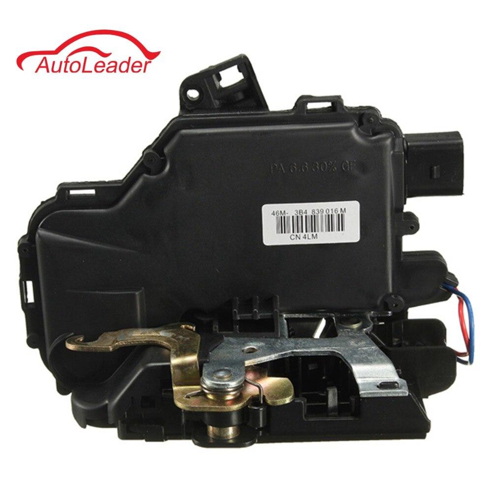 Rear Right Door Lock Mechanism For VW /GOLF /BORA /LUPO /PASSAT B5 MK4 /SEAT /Skoda 3B4839016A бра mantra bora bora c0103