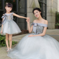 Mother & Daughter Dresses Children Princess Skirt Women Wedding Photo Studio Photographic Clothes