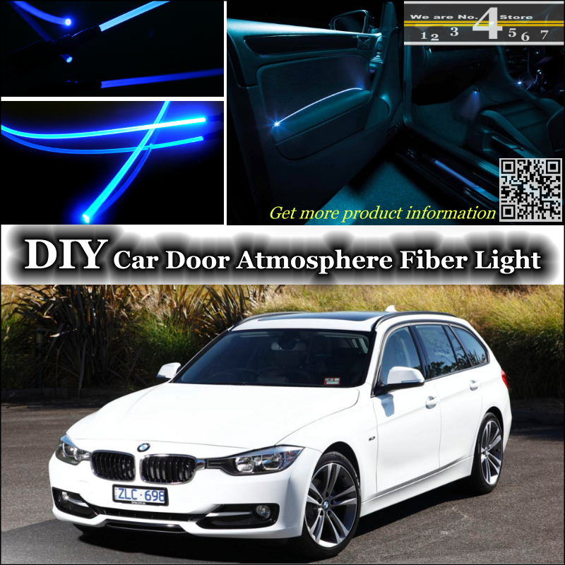 Interior Ambient Light Tuning Atmosphere Fiber Optic Band Lights For