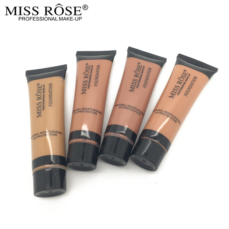 miss rose liquid foundation cream moisturizer oil control concealer fond de teint 38ml. Black Bedroom Furniture Sets. Home Design Ideas