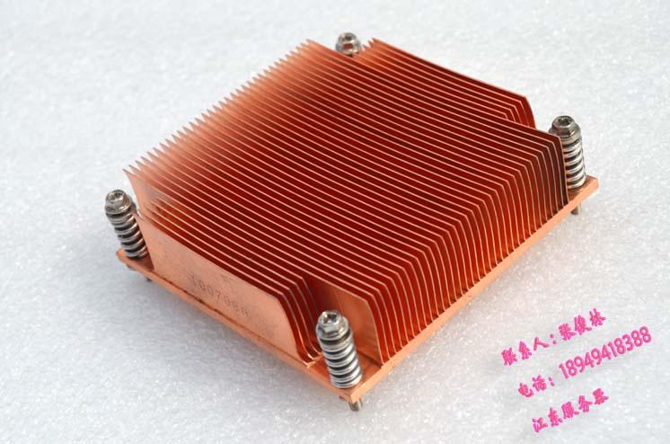 DIY 1U server 1366 X58 CPU copper heatsink 9cm*8.5cm*3.2cm 5pcs lot pure copper broken groove memory mos radiator fin raspberry pi chip notebook radiator 14 14 4 0mm copper heatsink