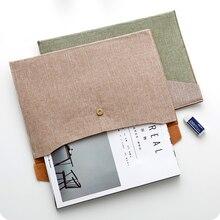 Получить скидку 1 шт. A4 папку Mafia файл мешок ретро офис файл сумка для хранения