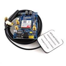 SIM808 модуль GSM GPRS gps макетная плата IPX SMA с gps антенной для Raspberry Pi STM32 51MCU Поддержка голоса
