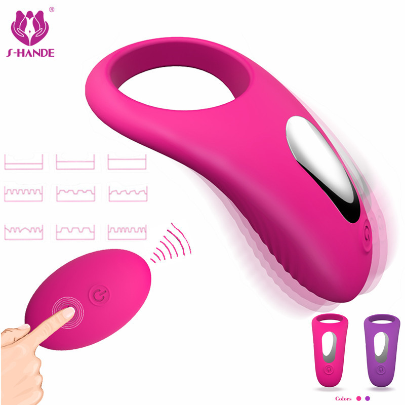 2018 Sex Shop Remote Control USB Charge 9 Speeds Delay Ejaculation Cock Penis Ring Vibrator Adult Sex Toys for Men Women Machine top shop slim jeggings abdo control page 9