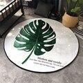 Модный Зеленый Большой Коврик для йоги в виде банановых листов  напольный коврик для йоги  игровой коврик для гостиной  спальни  декоративны...