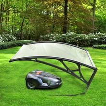 Прямая поставка 100*78 см DIY тент навес гаражная крыша для робота Газонокосилки газонокосилка солнцезащитный навес легко собрать HWC