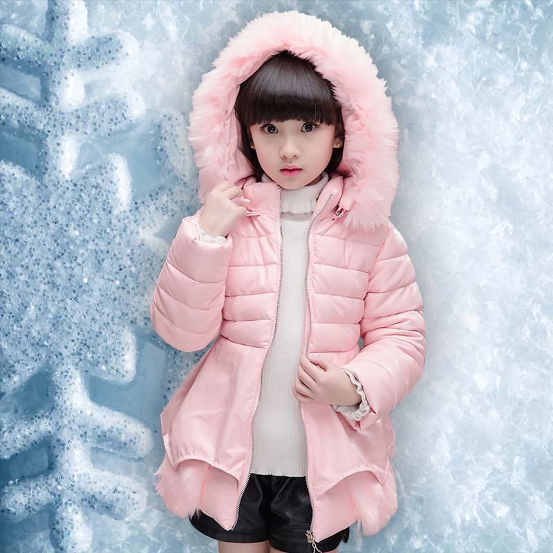 Children jacket coat for 5 6 7 8 9 10 11 12 13 years girl 2017 winter new fashion brand clothes outerwear thick hooded Parkas children cowboy jacket coat hooded 2017 winter new tide thick cashmere long outerwear size 4 5 6 7 8 9 10 11 12 13 years girl