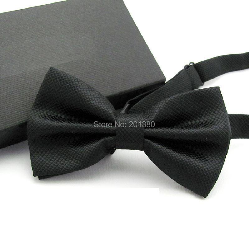 17 Solid color bowtie men Bow Tie Fashion butterflies white black blue 12