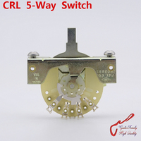 1 Piece Original Genuine GuitarFamily CRL 5 Way Electric Guitar Switch Pickups Switch Without Tip MADE