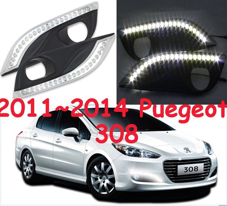 LED,2011~2015 Peugeo 308 daytime Light,Peugeo 308 fog light,Peugeo 308 headlight, 408 4008 508 Raid RCZ,Peugeo 308 Taillight