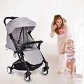 Trono bebé Cochecito de Bebé de coche de bebé Plegable Portátil Puede Sentarse Y Acostarse Bebek Arabasi Portátil Carro de Bebé