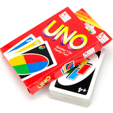 2016 NEW popular fold UNO Poker Card Game Playing Cards Family Funny Entertainment Board Game UNO Fun Poker Playing Cards(China)