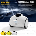 ESCAM QN02 Умный Робот WI-FI Ip-камеры HD 720 P 1MP Беспроводной Детские Pet Монитор Сенсорного Взаимодействия Двигаться Видео Камеры Android/IOS