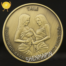 New Style Russian Sexy Commemorative Coin Adult Romantic Valentines Day Gift Coins of Russia Ancient Bronze